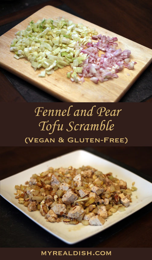 Fennel Pear Scramble