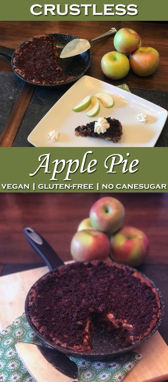 crustless apple pie 2